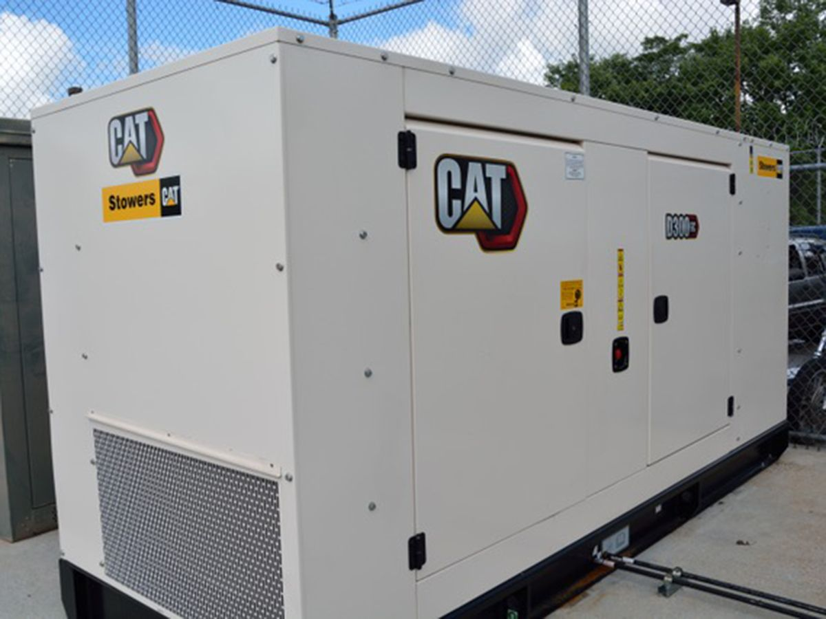 Cat D300 GC Diesel Generator Set