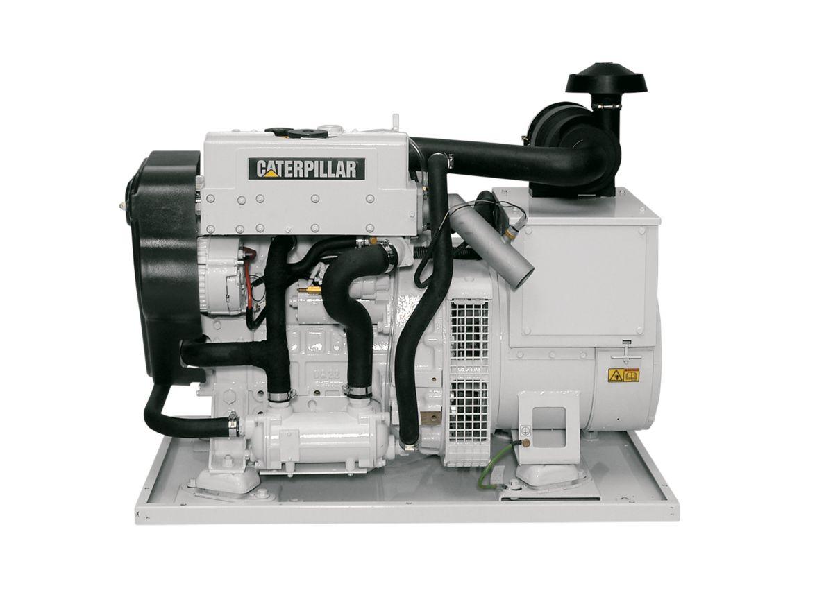 C15 Peterson Power Fuel Filters Marine Generator Set Engine