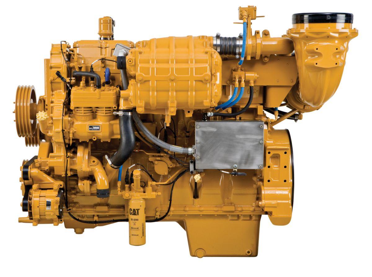 on Cat C18 Diesel Engines